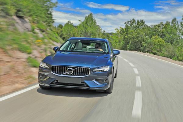 Volvo V60: универсал в скандинавском стиле
