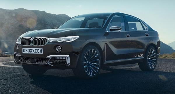 Новый BMW X8 представят в 2020 году