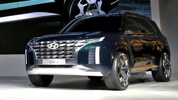 В Корее показали прототип нового флагмана Hyundai