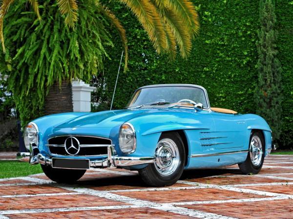 Mercedes-Benz 300 SL считается предком «семейства»