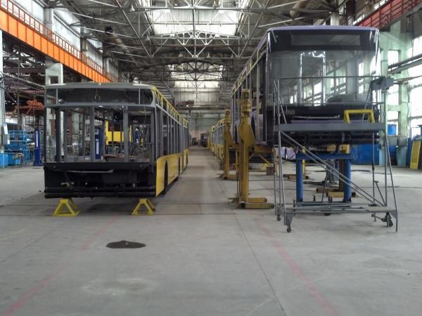 ЛАЗ возобновляет производство