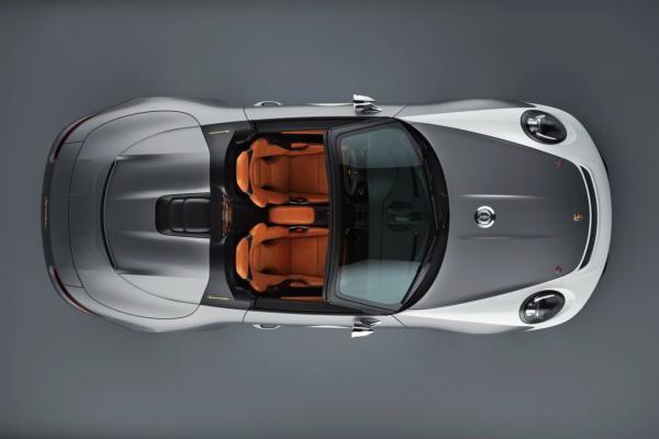 Porsche 911 Speedster: посвящено юбилею