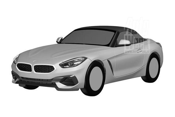 Рассекречен новый BMW Z4