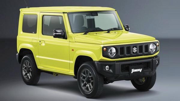 Первые официальные фото Suzuki Jimny нового поколения