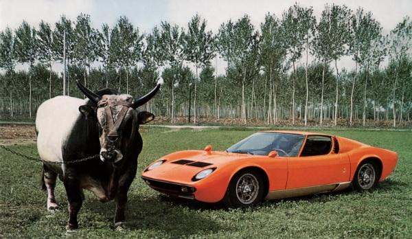 Lamborghini Miura: кузнец успеха марки