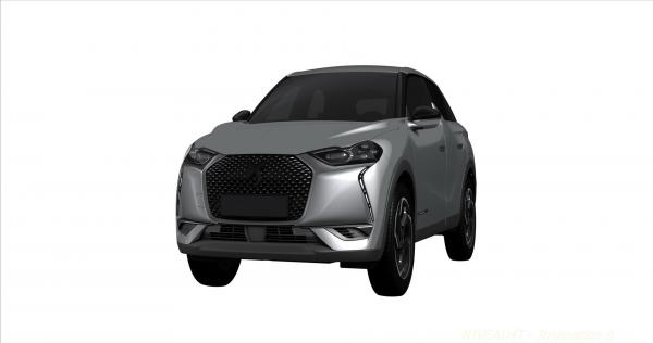 Новый Citroen DS3 Crossback рассекречен