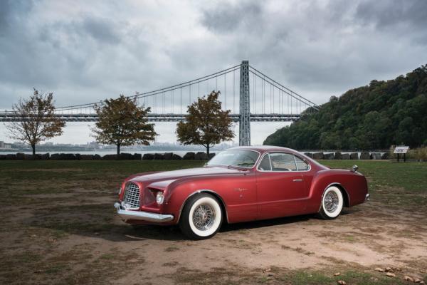 Концепт-кар Chrysler d'Elegance 1953 года – прообраз  Volkswagen Karmann-Ghia