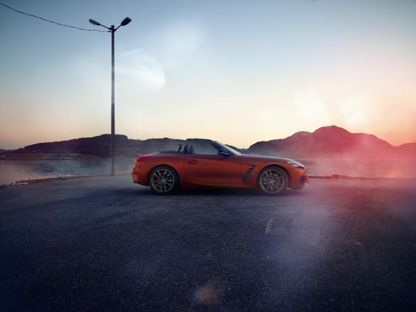 Официальные фото BMW Z4 нового поколения