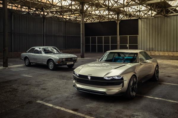 Peugeot e-Legend: дань истории