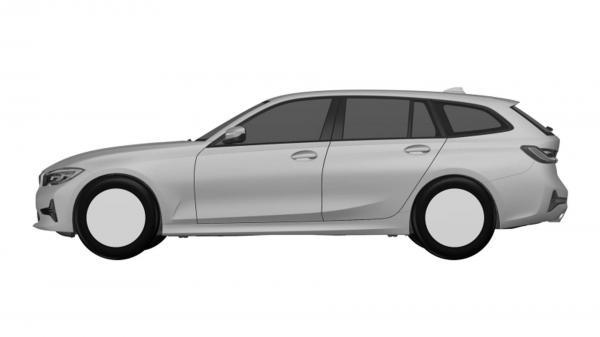 Универсал BMW 3 Series рассекречен на патентных фото