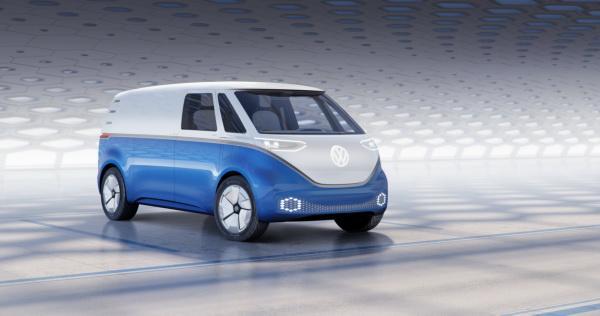 Volkswagen I.D. Buzz Cargo: коммерческий автомобиль будущего