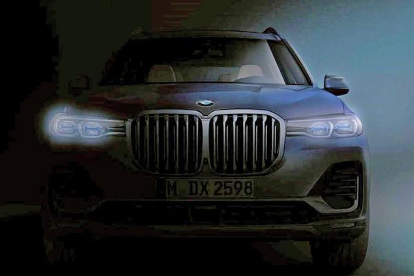 Официальное фото BMW X7