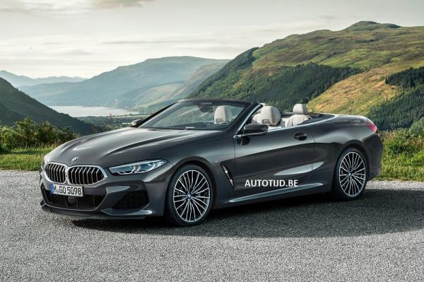 Новый кабриолет BMW 8 Series полностью рассекретили