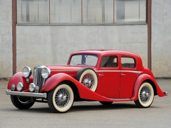 Jaguar 2 ½ Litre 1935 года