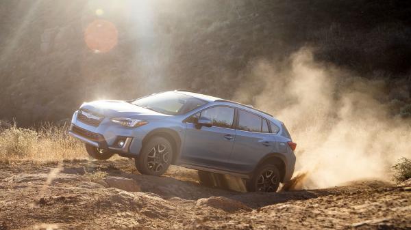 Subaru представили первый гибрид