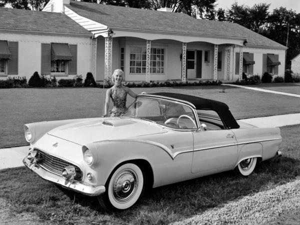 Ford Thunderbird: американский буревестник