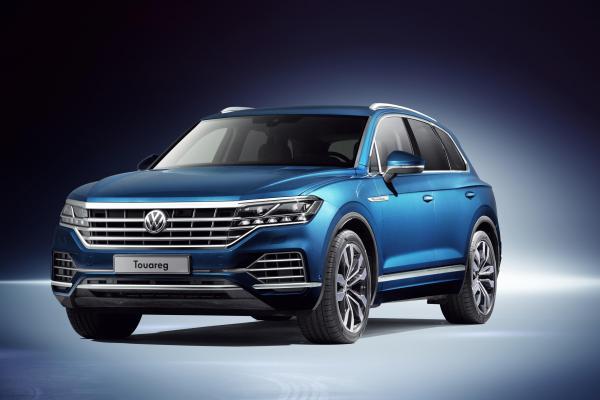 Новый Volkswagen Touareg стал гибридом