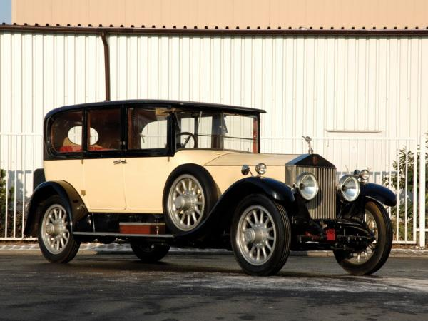 Первый Rolls-Royce Phantom 1925 года