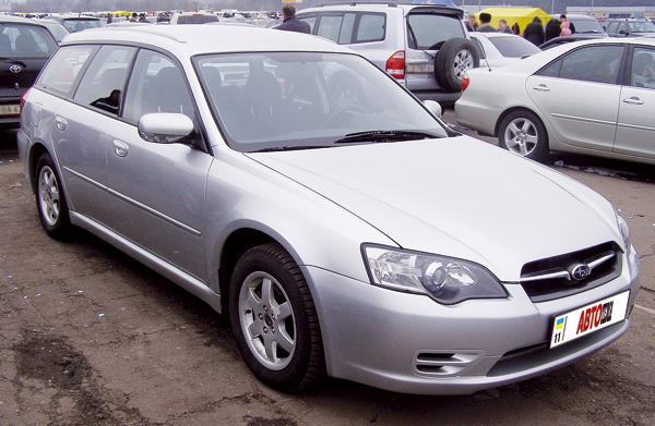 Subaru Legacy Wagon: спортивный универсал