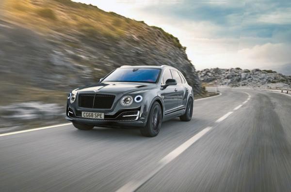 Bentley Bentayga получит заряженную версию
