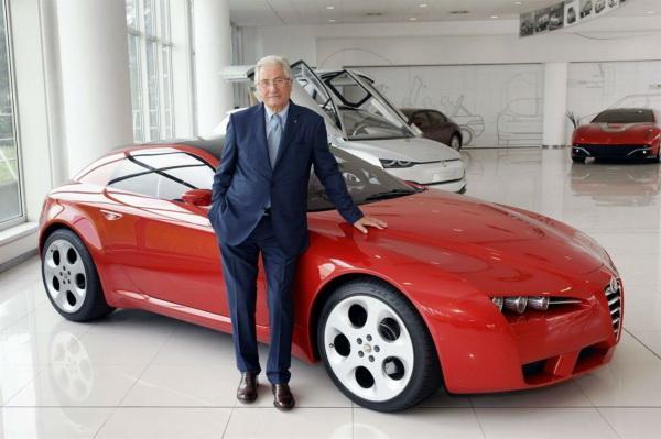 Джорджетто Джуджаро и Alfa Romeo Brera