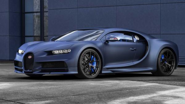 Bugatti Chiron получил юбилейную версию