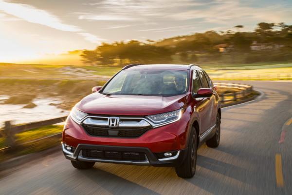 Honda CR-V, Mazda CX-5 и Subaru Forester: сравнение японских вседорожников