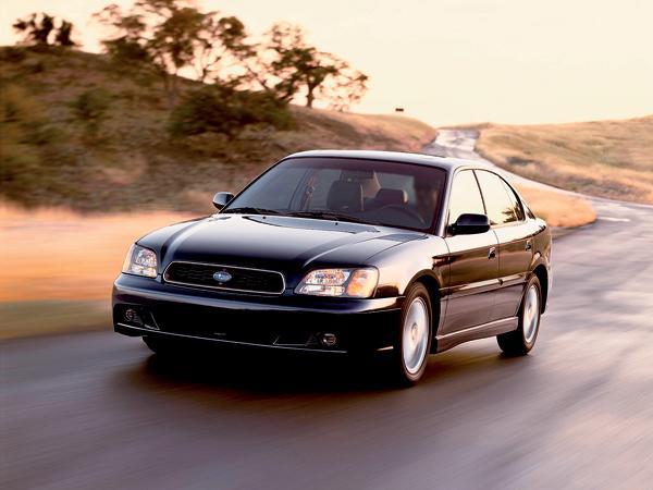 Subaru Legacy: удачное наследство