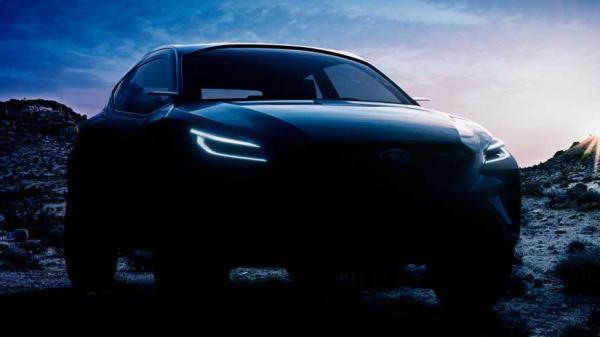 Subaru готовит компактный вседорожник