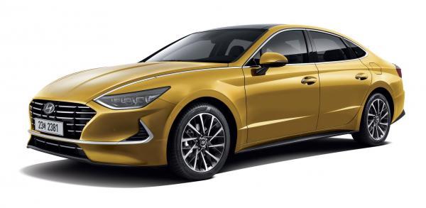 Первые фото Hyundai Sonata нового поколения
