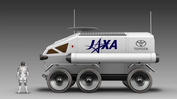 Toyota представила проект пилотируемого лунохода