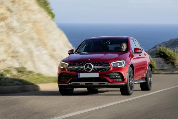 Mercedes-Benz GLC Coupe: модернизация