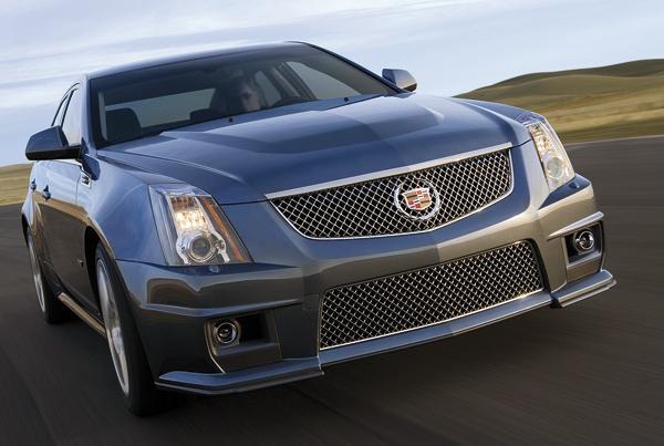 Cadillac CTS-V: седан с