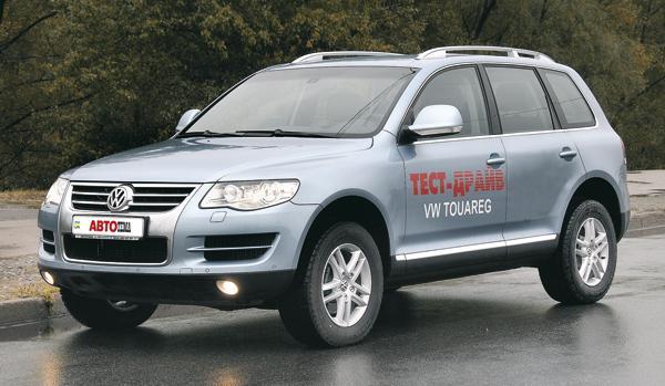 Volkswagen Touareg GP: прагматичная сдержанность