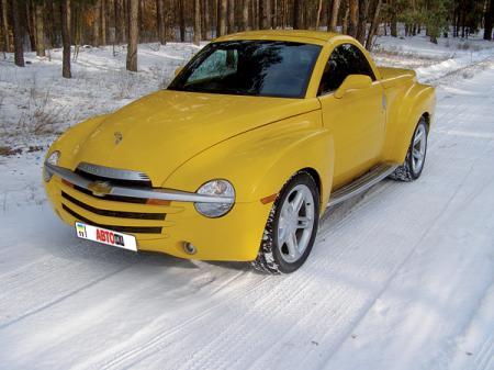 Chevrolet SSR: серийный хот-род