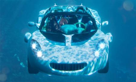 Rinspeed sQuba Concept: летающий под водой