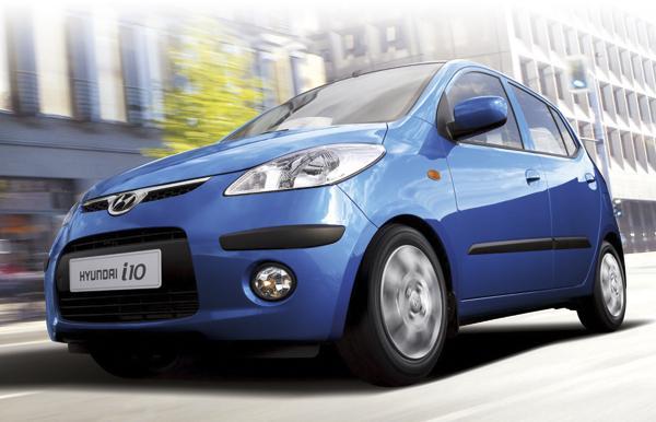 Hyundai i10 пришел на смену Atos