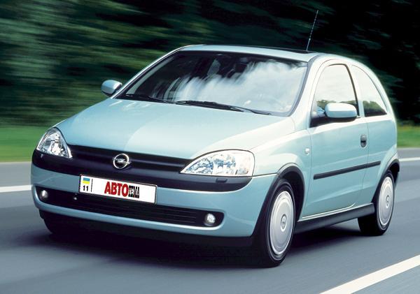 Opel Corsa: практично и со вкусом