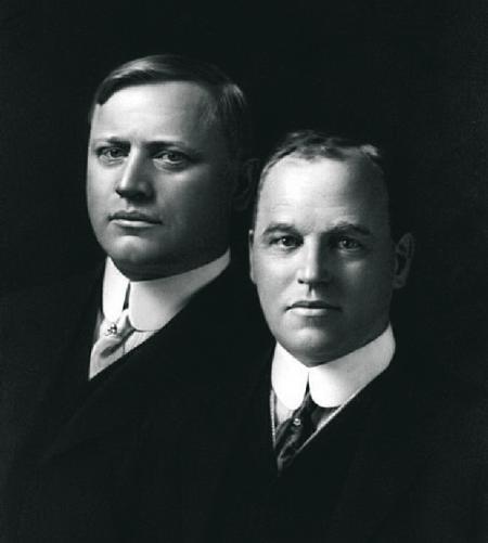 Братья Джон и Горас Доджи всю жизнь были неразлучны и вместе построили свое собственное будущее