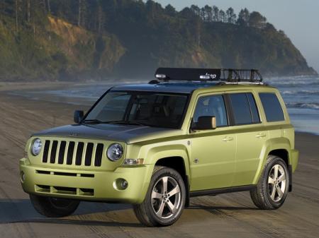 Jeep Patriot для серферов и аквалангистов