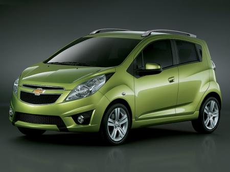 На смену Daewoo Matiz: Chevrolet Spark
