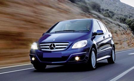 Mercedes-Benz B-Class: модернизация