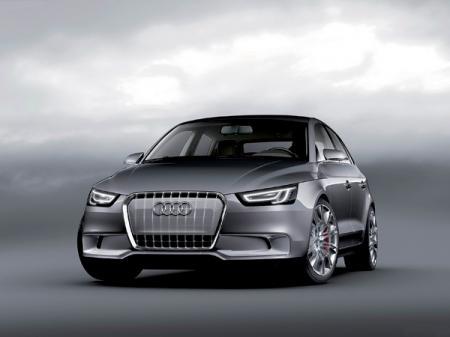 Audi A1 Sportback Concept: предтеча модели В-класса