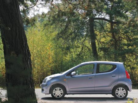 Nissan Pixo: самый доступный Nissan