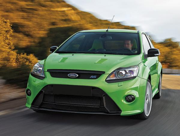 Ford Focus RS: уличная ракета