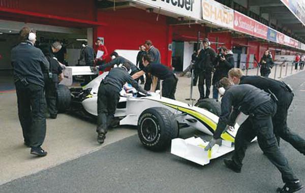 Команда Brawn GP представила свою машину