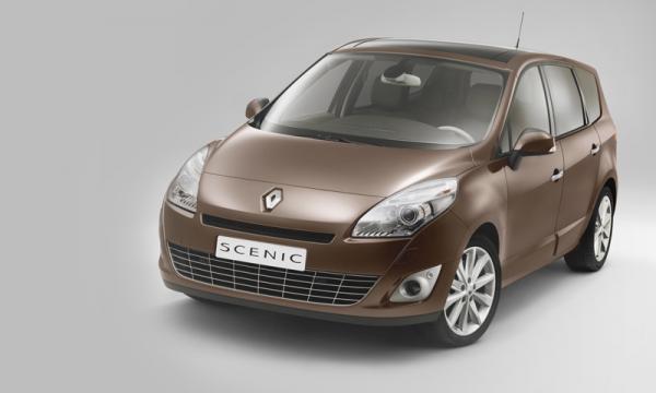Renault Scenic – новичок в семействе Megane