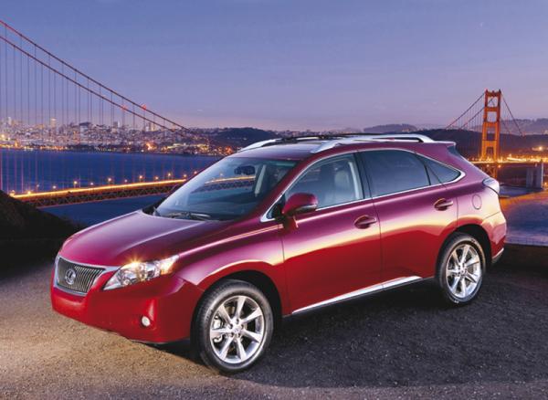 В Украине стартовали продажи нового Lexus RX350