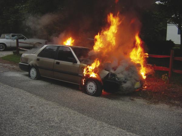 Пожежа, як правило, є страховим ризиком