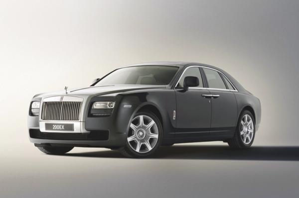 Rolls-Royce 200EX назовут Silver Ghost